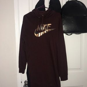 Long sleeve Nike Hooded Dress